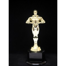 Oscar Figure on Round Base - 8.5""